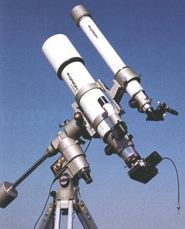 Astrofotografia cez hvezdársky teleskop