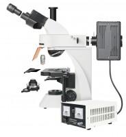 Trinokulárny fluorescenčný mikroskop Bresser Science ADL-601F 40-1000x