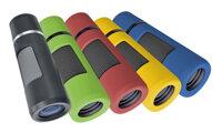 Monokuláre Bresser Topas 10x25 čierny, zelený, červený, žltý, modrý
