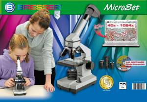 Mikroskop Bresser JUNIOR 40-1024x USB